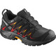 Salomon Junior XA Pro 3D CSWP Shoes Black/Black/Fiery Red